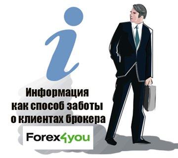 Информация о финансовых рынках