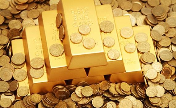 Цены на золото упали до минимального уровня
