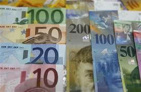 Курс швейцарского франка к евро