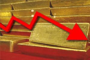 Цены на золото упали