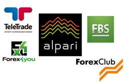 Alpari и TeleTRADE стали самыми популярными брокерами в Интернете