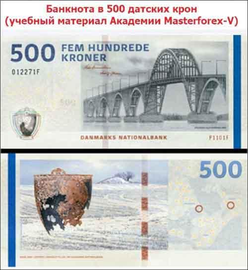 Банкнота 500 крон