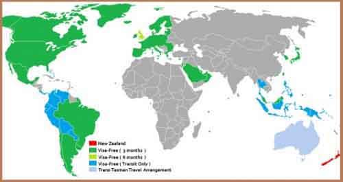Визовая политика Новой Зеландии