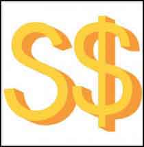 Знак сингапурского доллара