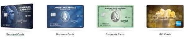 Карты платежной системы American Express