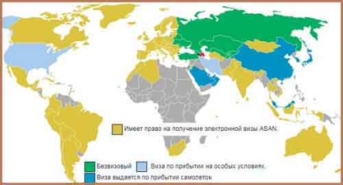 Визовая политика Азербайджана.