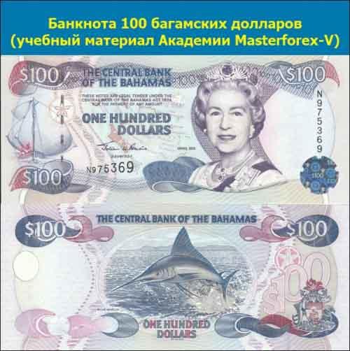 Купюра 100 долларов