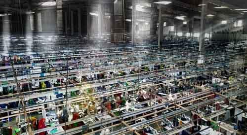 Производство одежды в Бангладеш