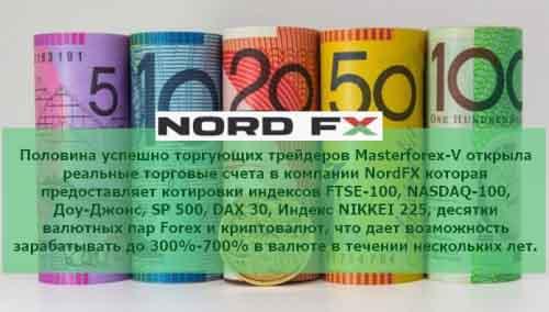 Брокеfр Nordfx для торговли на курсах валют на рынке форекс