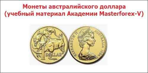 Монеты австралийского доллара