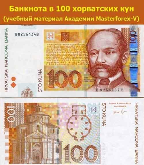 Банкнота 100 кун