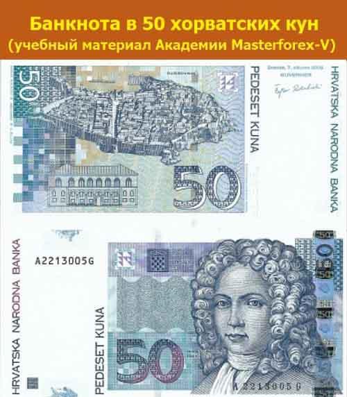 Купюра 50 кун