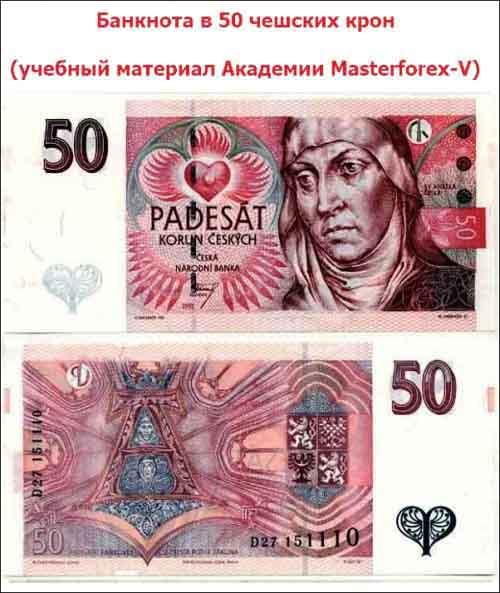 Банкнота 50 крон
