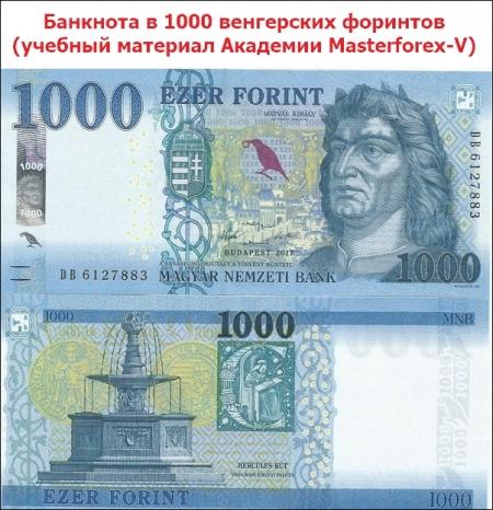 Банкнота 1000 форинтов