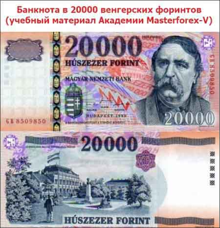 Банкнота в 20 000 форинтов