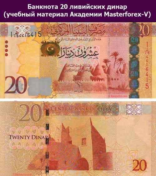 Купюра 20 динаров 2013 года выпуска