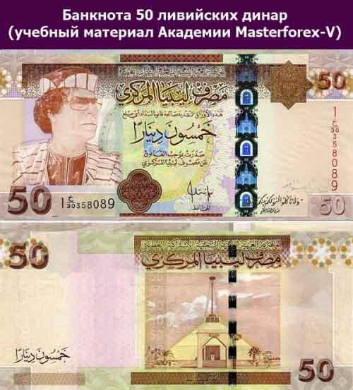 Банкнота 50 динаров 2009 года выпуска
