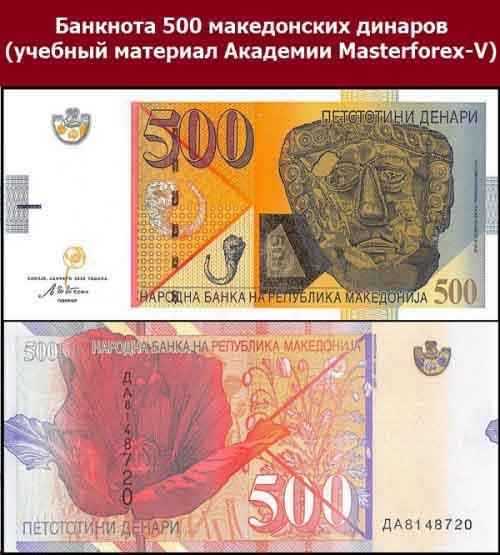 Банкнота в 500 динаров