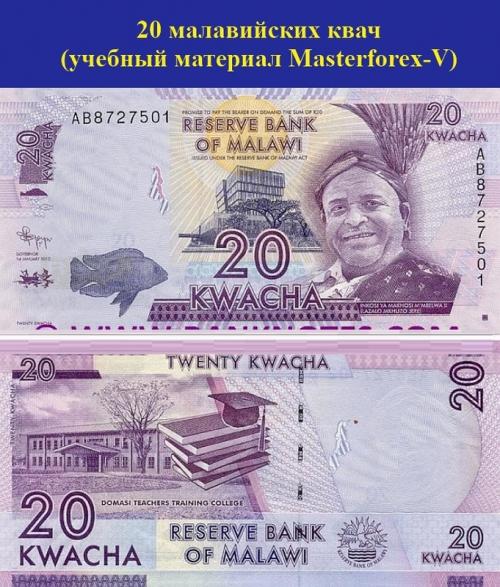 20 малавийских квач