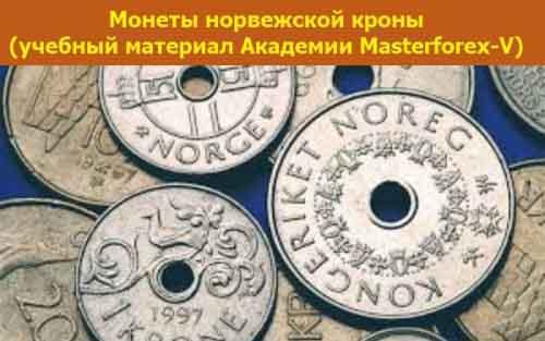 Монеты норвежской кроны