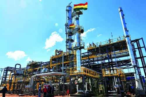 Газовая промышленность Боливии