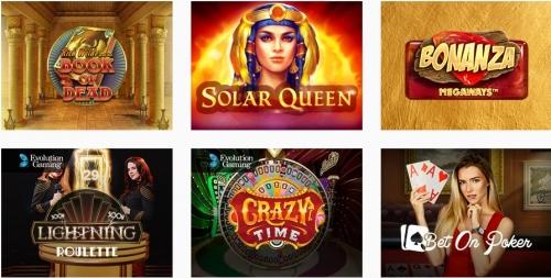 Игры и программное обеспечение букмекера BOSS Casino