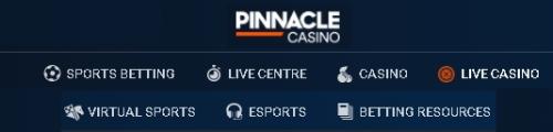 Игры и программное обеспечение букмекера Pinnacle