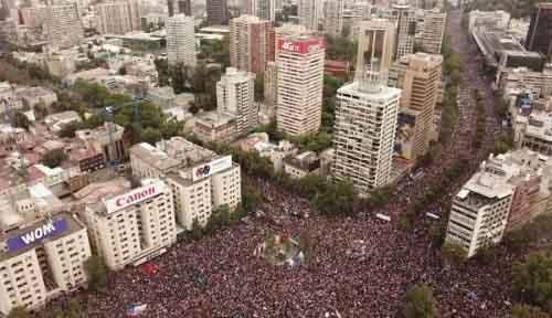 Протест в Чили