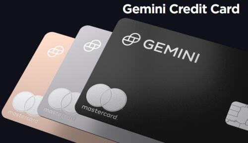 Кредитная карта биржи Gemini