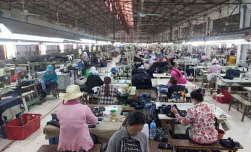 Швейная фабрика, Камбоджа