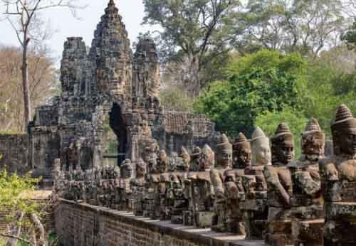 Древний храм, Камбоджа