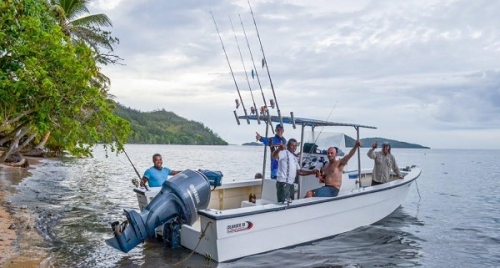 Рыбалка на Фиджи