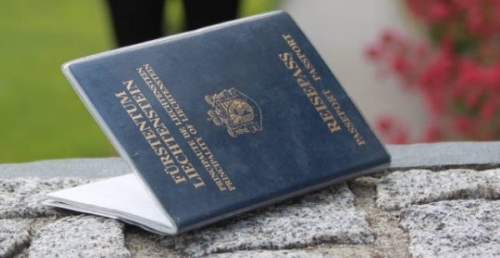 Паспорт Лихтенштейна