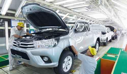 Производство Toyota в Таиланде width=
