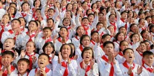 Дети в Северной Корее
