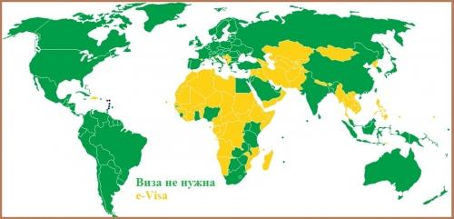 Визовый режим Сент-Китса и Невиса