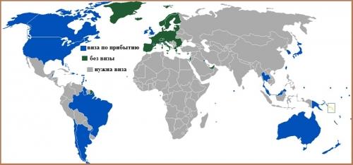 Визовый режим Соломоновых островов.