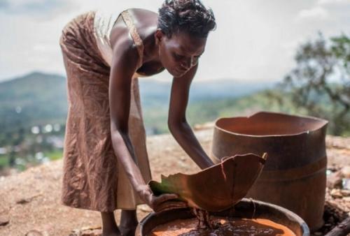 В поисках золота, Уганда