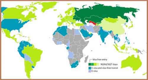 Визовая политика Узбекистана