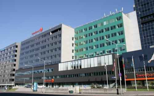 Офис Swedbank Эстония