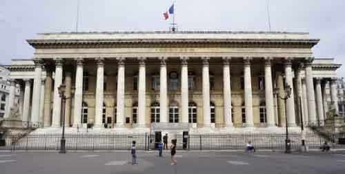 Здание Парижской фондовой биржи