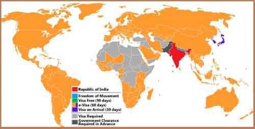 Визовая политика Индии
