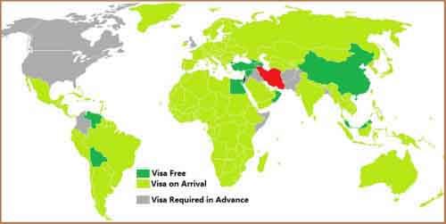 Визовая политика Ирана