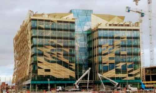 Современный офис Bank of Ireland