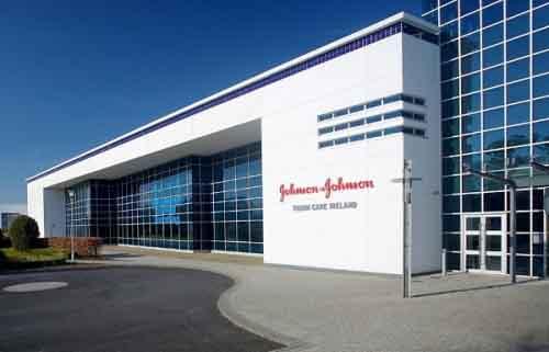 Производство Johnson & Johnson в Ирландии