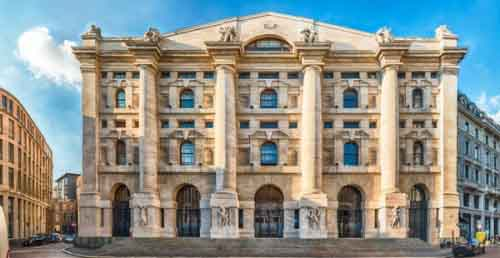Офис Итальянской фондовой биржи