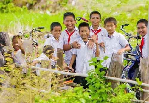 Подрастающее поколение Лаоса