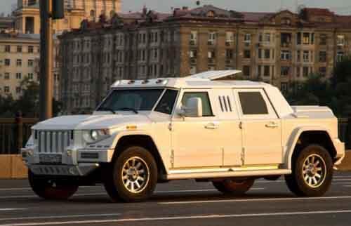 Hummer после тюнинга Dartz Motors