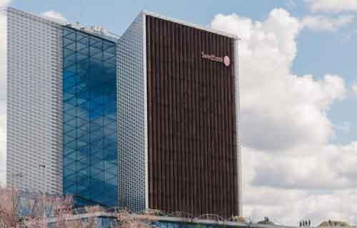 Офис Swedbank Lithuania