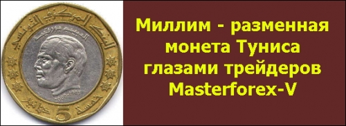 Миллим - монета Туниса